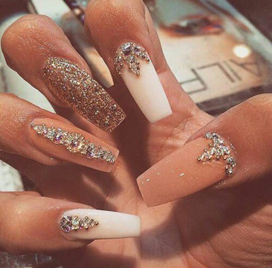Glamour Queen Bling Nails Beautiful Nails Nail Designs