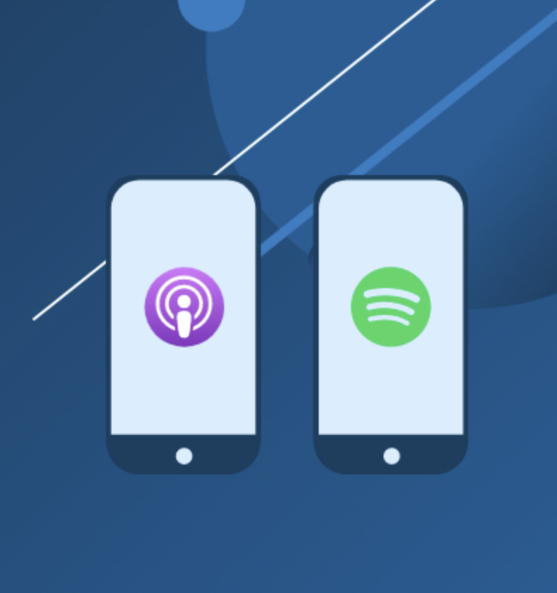 News roundup A look at Apple vs. Spotify in the podcast