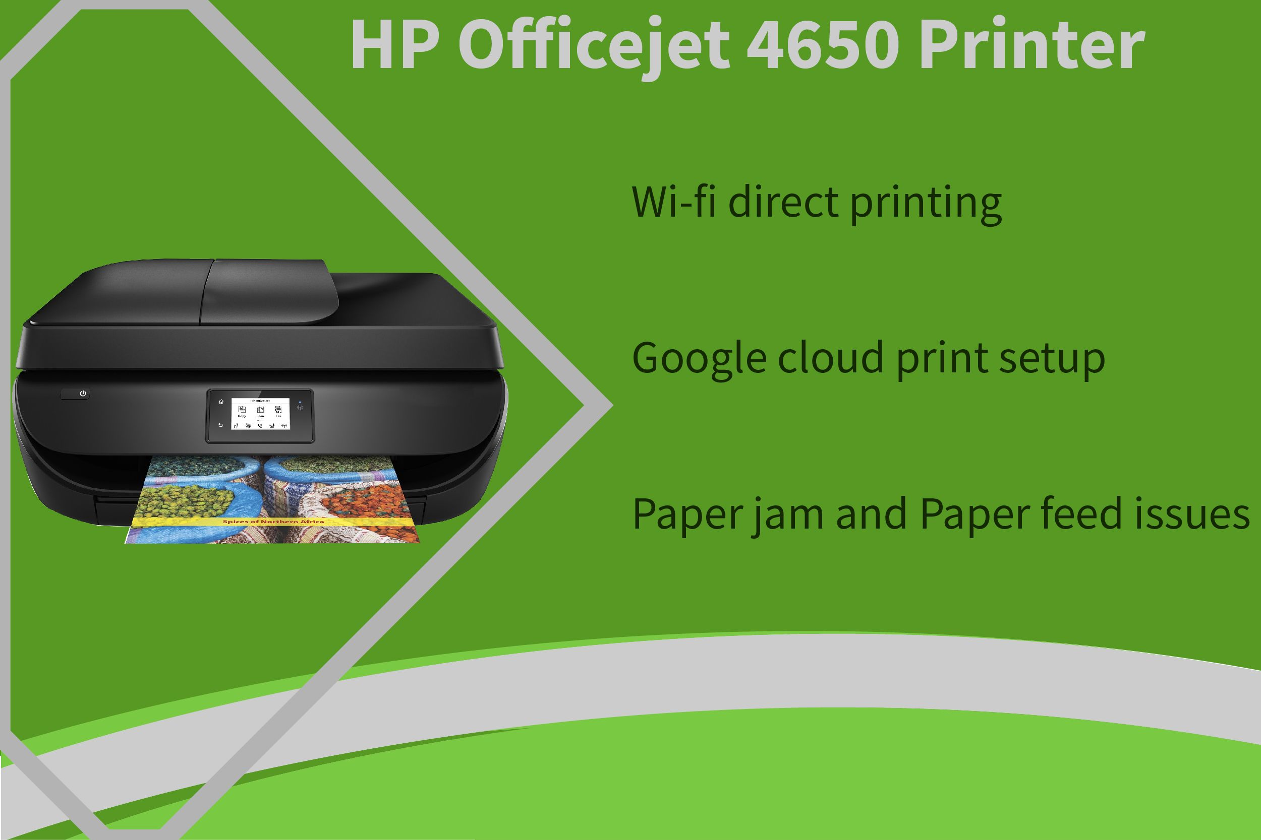 Hp officejet 4650 paper