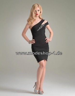 Elegantes Schwarzes Kleid Cocktailkleid | Abendmode Abendkleider ...