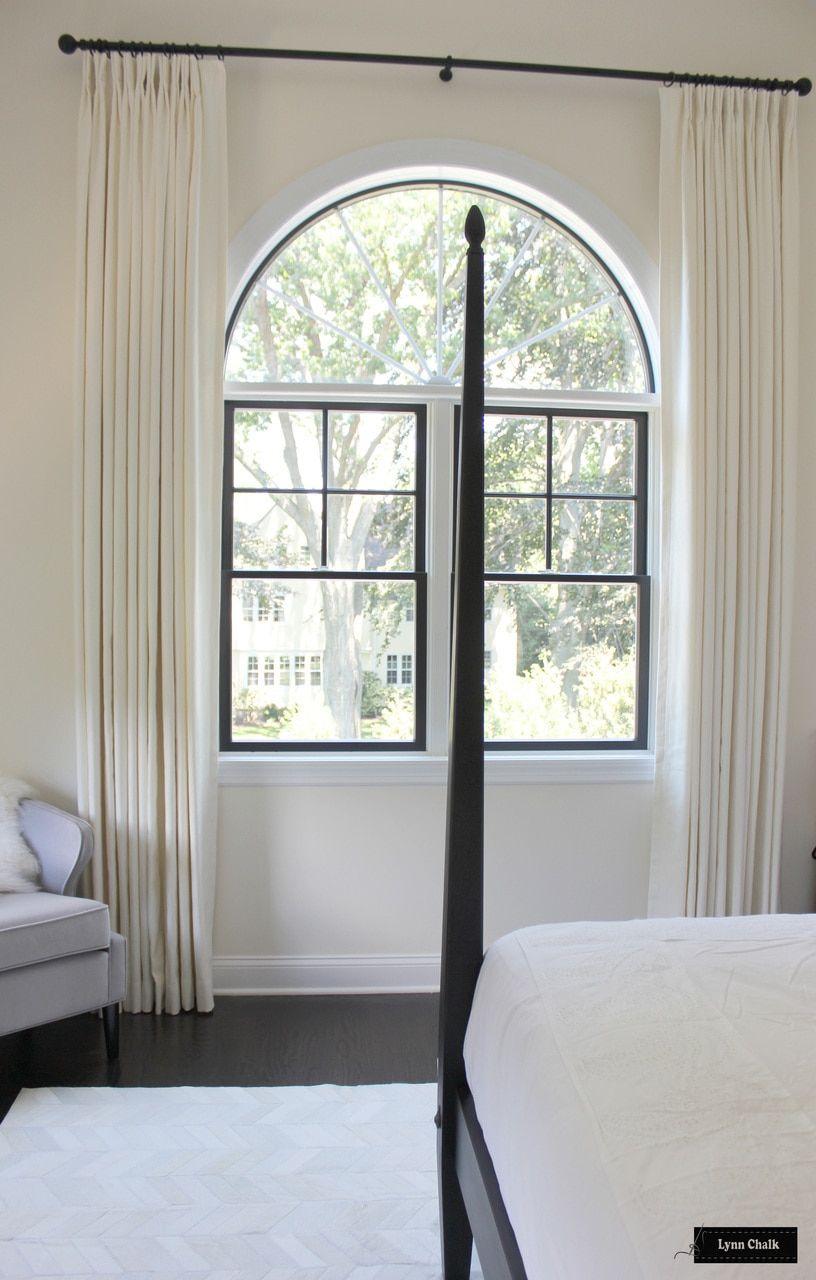 Trend Linen Cotton 01838t Bedroom Drapes Shown In Coconut Comes