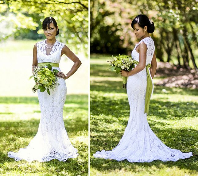 You'll Never Believe What This Wedding Dress Is Made Of