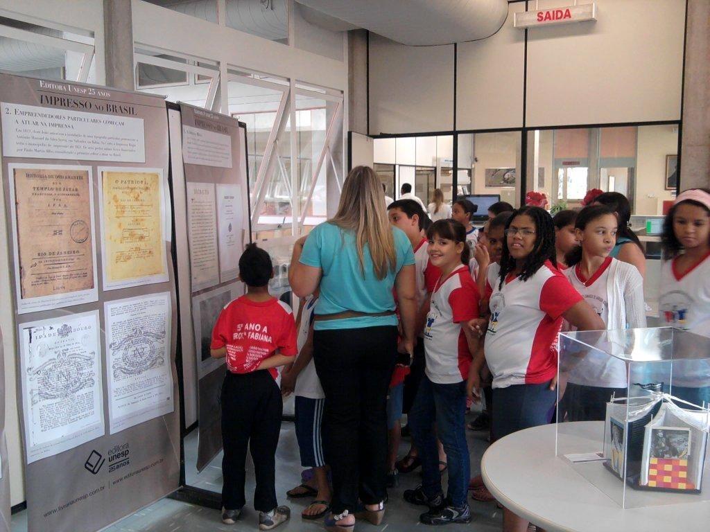 Exposição em Comemoração aos 25 anos da Editora Unesp, Campus de Araçatuba
