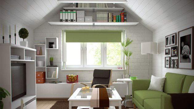 15 Well Designed Living Spaces In The Attic | Smart Storage, Attic And  Small Space Decorating