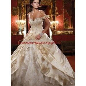 Unique Wedding Dresses Colorful Dress Gowns Colored