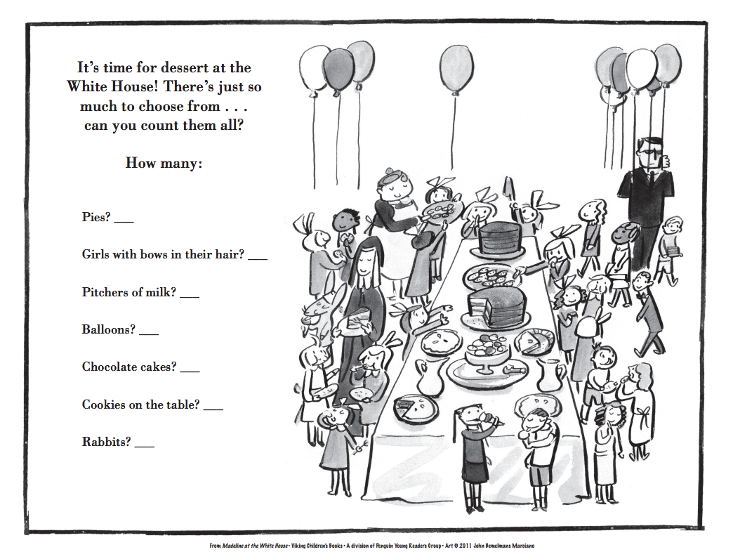 coloring pages to print madeline - photo#24