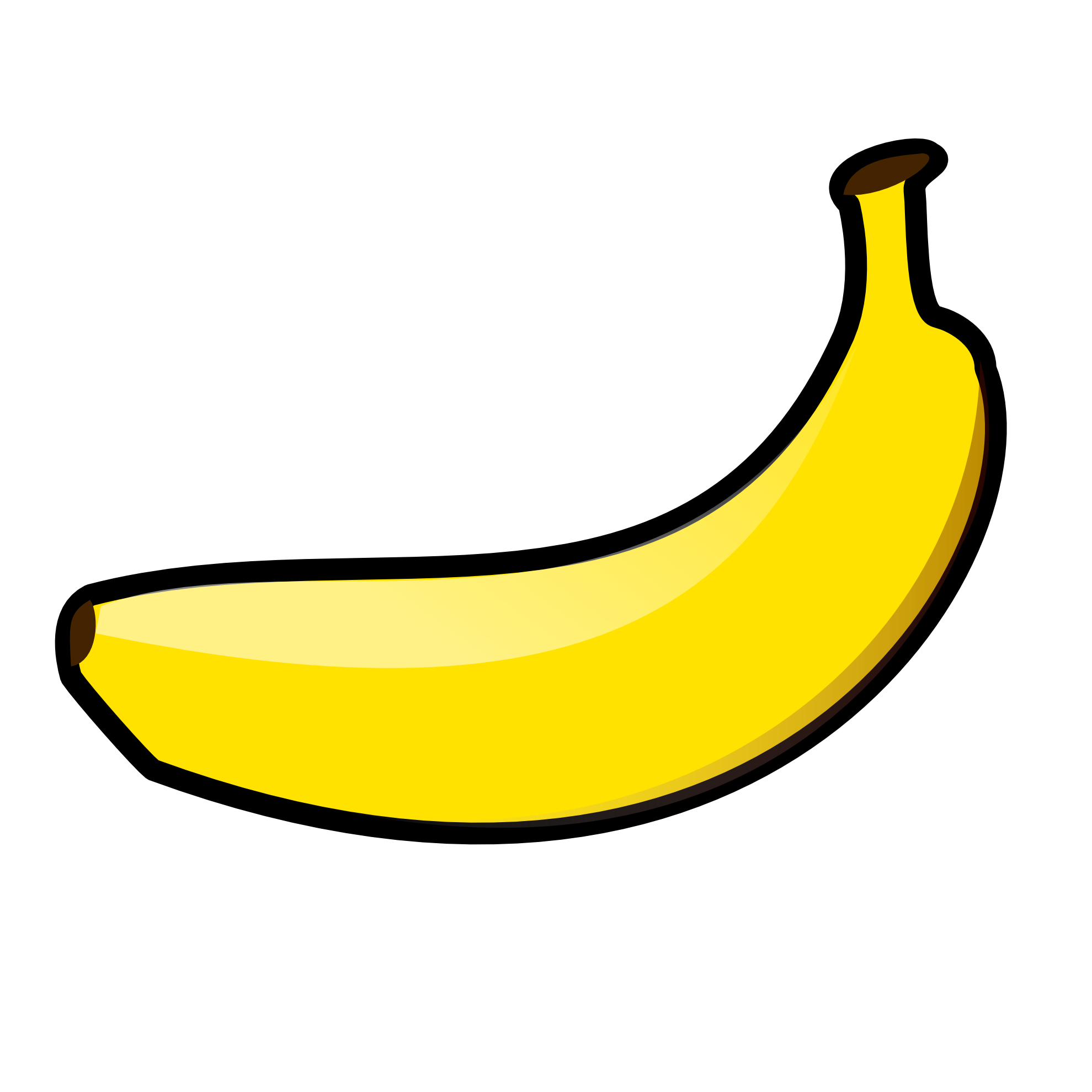 Banana Clipart Black And Educationplay Pinterest Blanco Y Negro