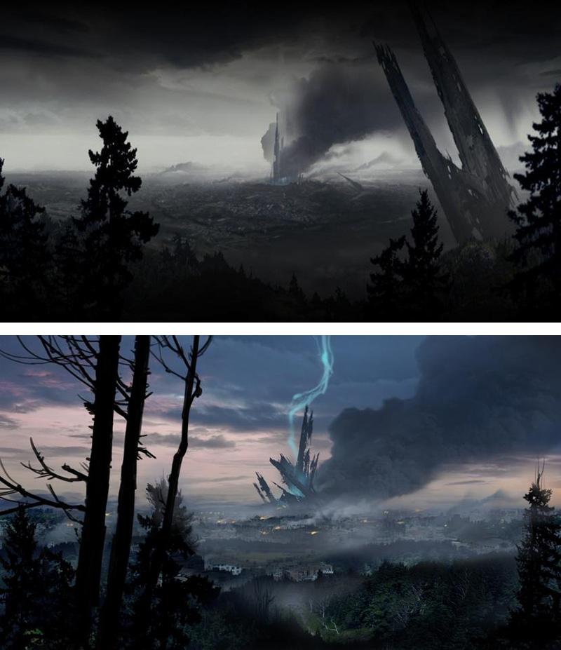 Half Life 2 Episode 2 Concept Art Citadel Half Life Sci Fi Environment Game Concept Art