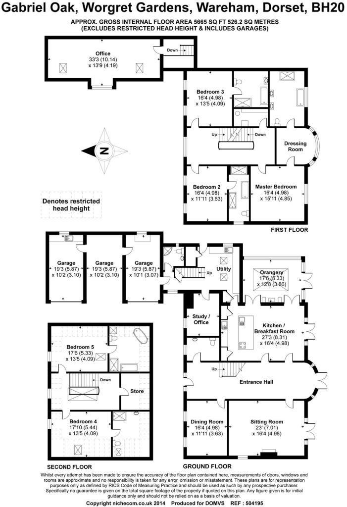 Rightmove.co.uk | Floor plans, Modern house plans ...