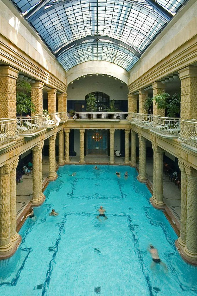 Great Gellert Baths And Swimming Pool   Budapest, Hungary. Constructed Between  1912 And 1918,