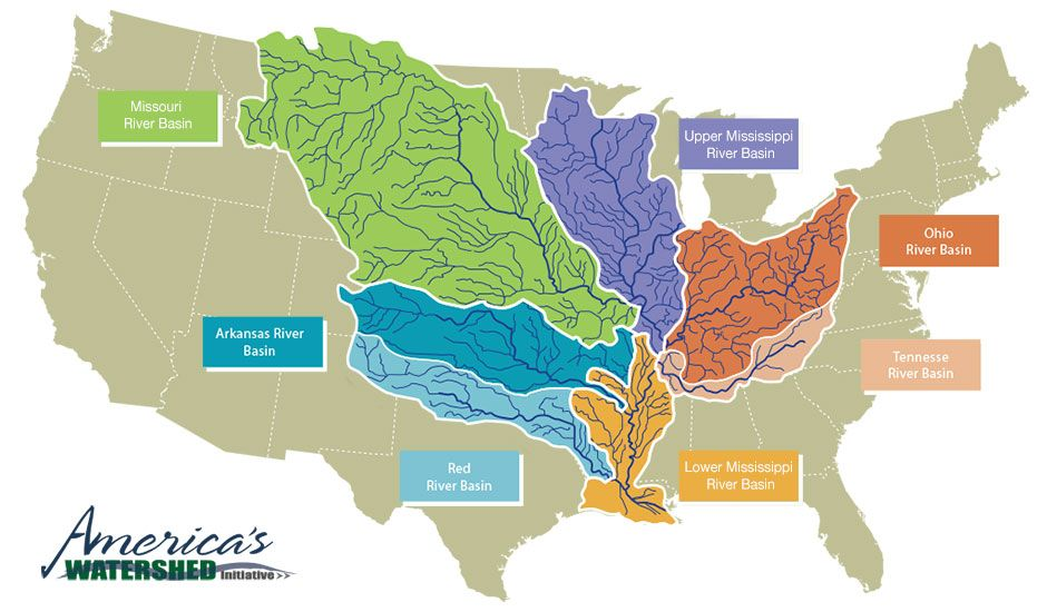 WEEK 4-7 The Mississippi River Basin Americau0027s Watershed NOTE Use - copy interactive world map amazon