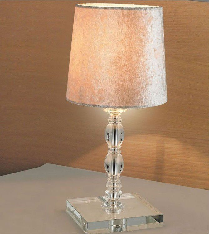 Elegant Battery Operated Table Lamps Design With Stylish Decoration Ideas  Used Fabric Cover And Glass Material For Lamp Stand - Battery-powered-table-lamp Battery Operated Lamps Pinterest