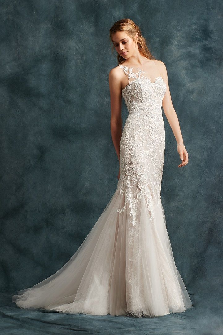 Mermaid gown with a sweetheart neckline | fabmood.com #weddingdress #ateliereme #bridal #bride #weddingdresses2017