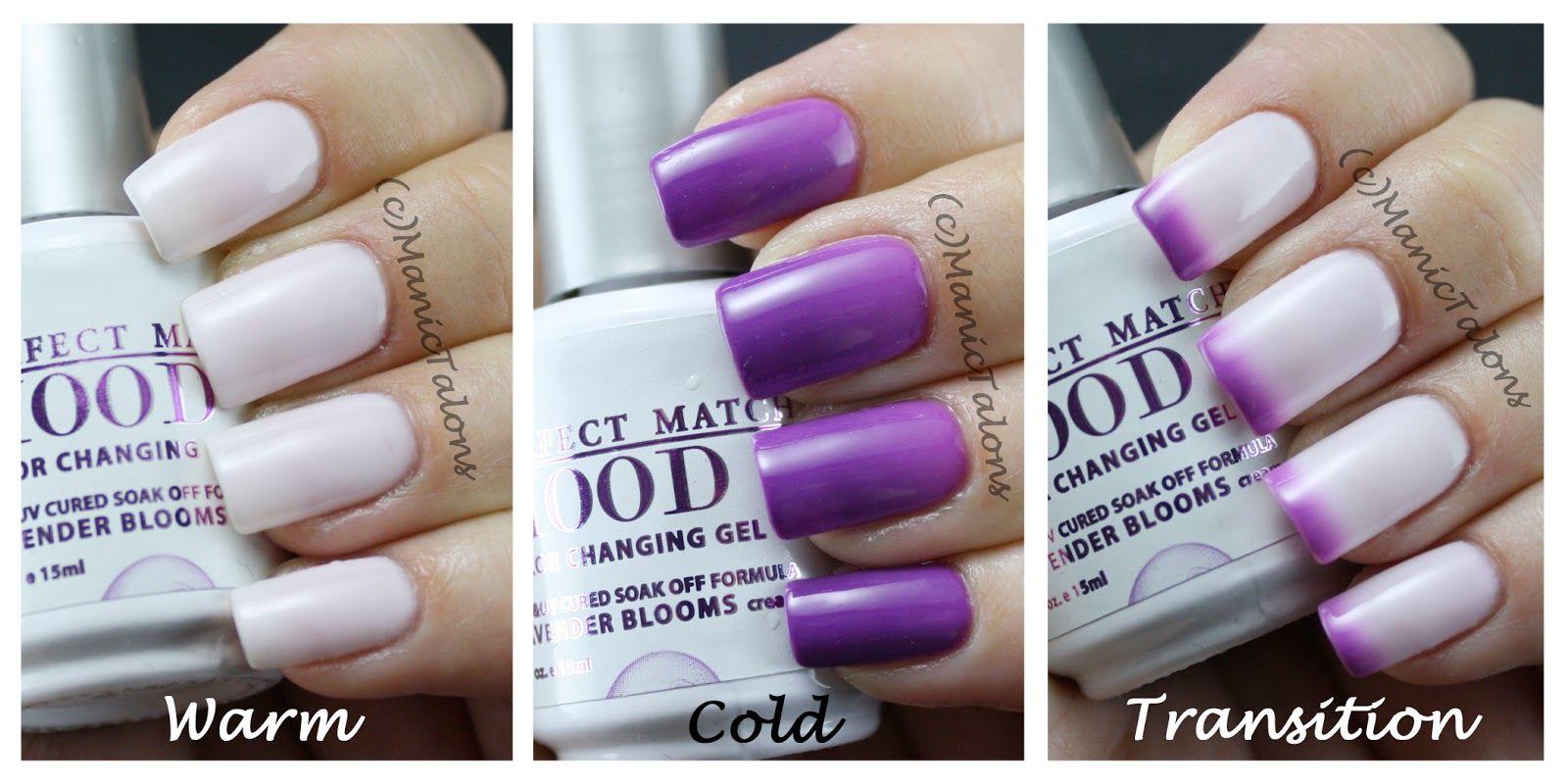 LeChat Mood Lavender Blooms Swatch