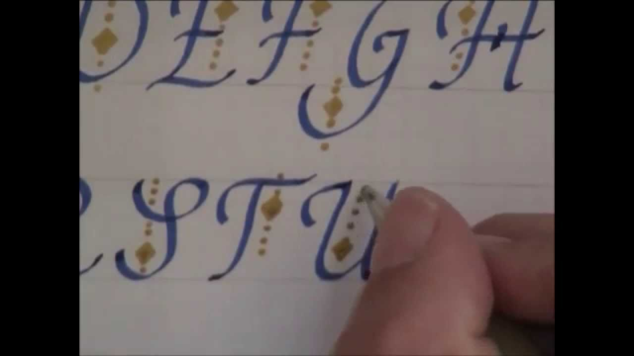 Cursive fancy letters how to write and design cursive fancy