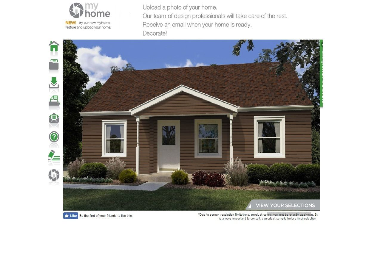 Choose for the facade of vinyl siding: reviews say Yes