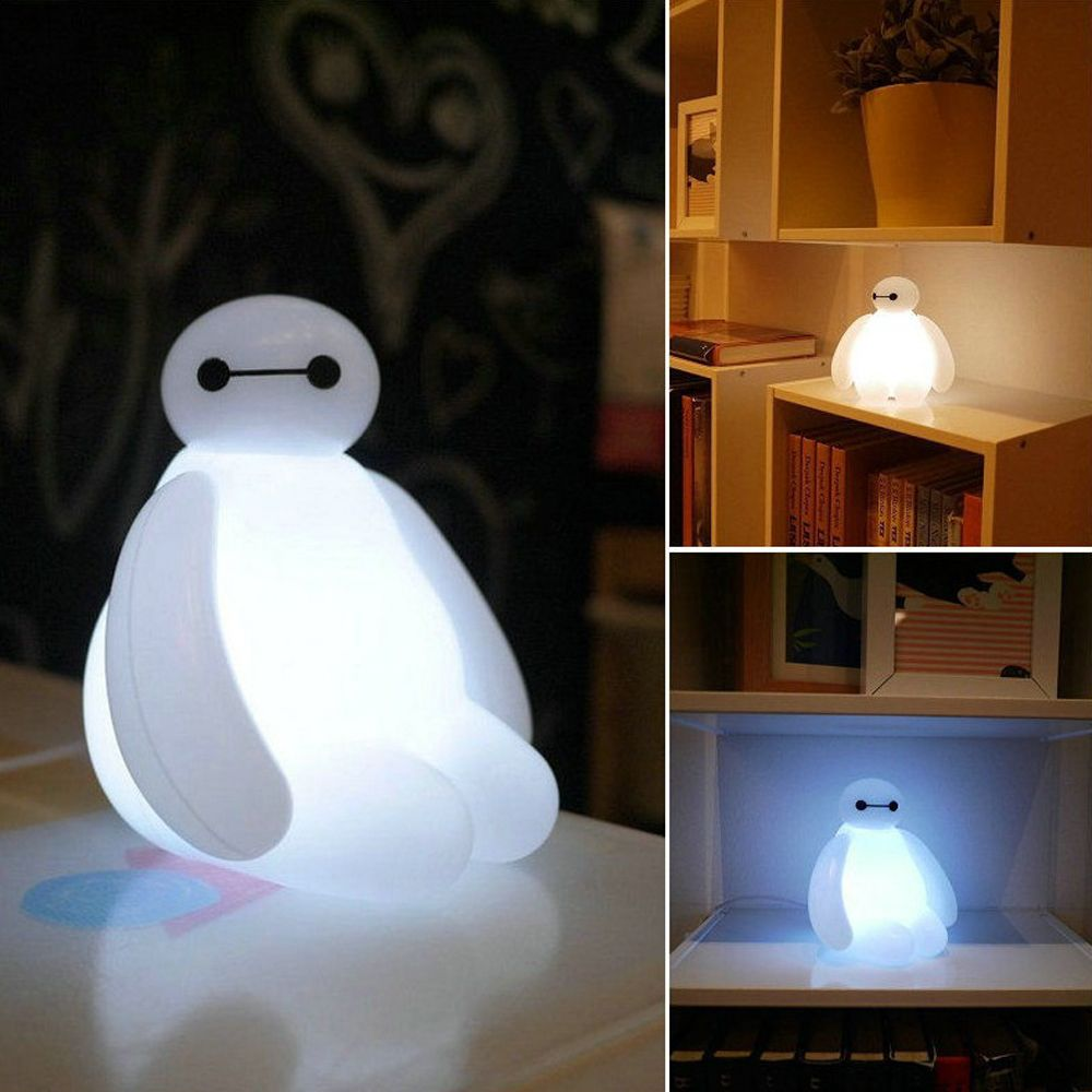 ... underwear directly from China gifts mini Suppliers: Big Hero 6 Cartoon  BayMax LED Night Light White Cute Table Lamp Bedroom Decoration Amazing  Kids Gift