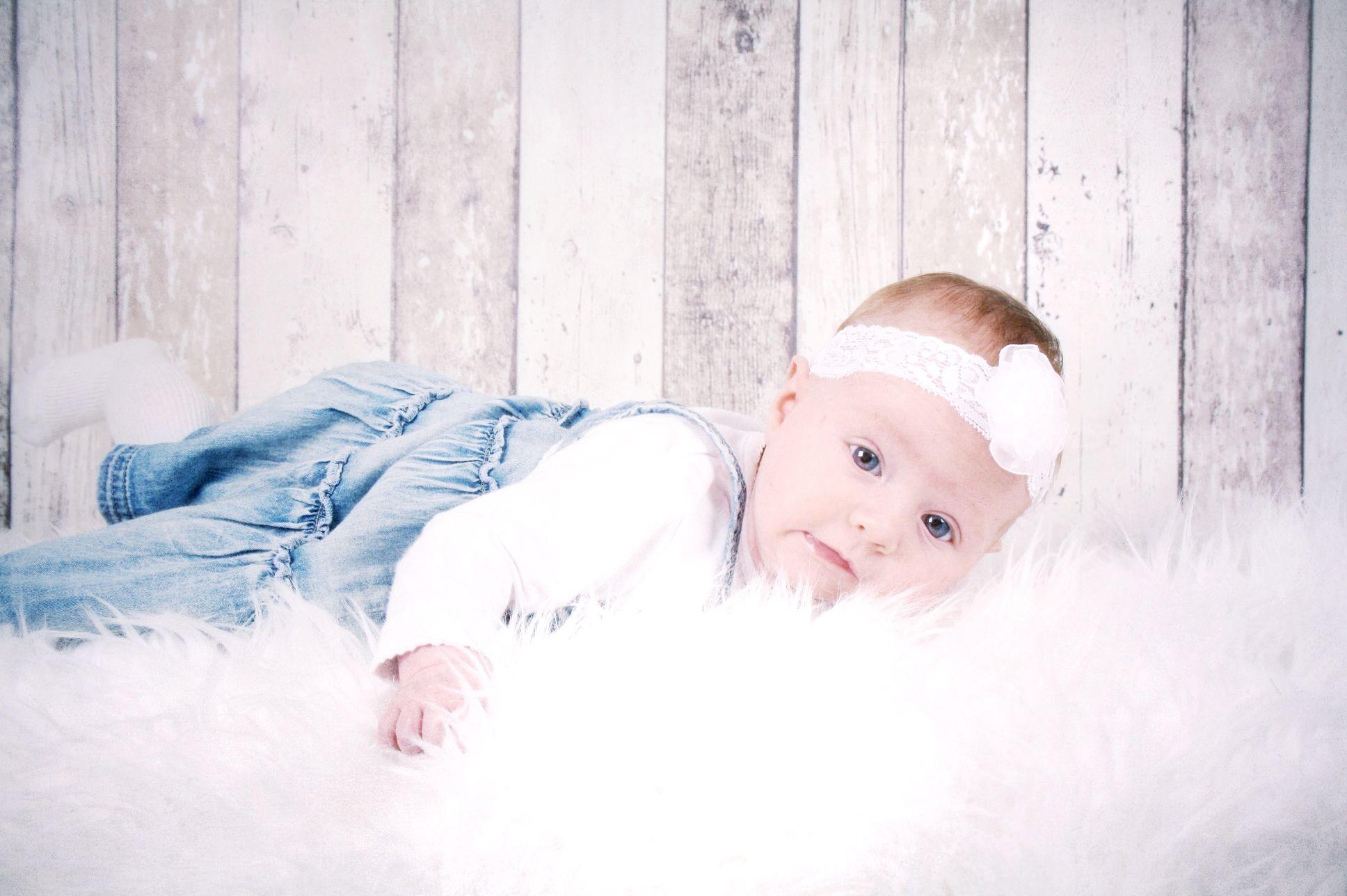 Fotoshoot Lola 4 maanden