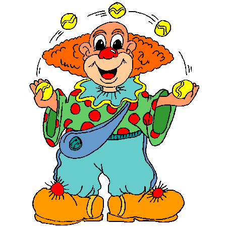 Coloriage clown jongleur a imprimer clowns pinterest - Coloriage clown a imprimer ...