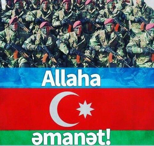 Allahim Sen Bizim Esgerlerimizi Qoru Amin Azerbaijan Flag Baku Azerbaijan Azerbaijan