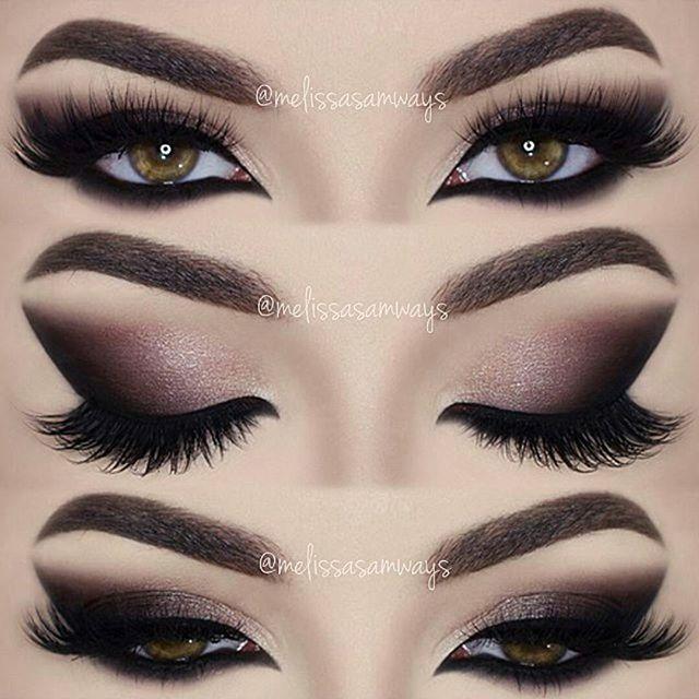 Cat Smokey Eyes Fierce Face Eye Makeup Beauty Makeup Cat Eye