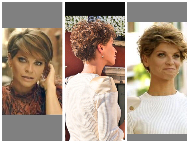 Capelli Corti Mossi Alessandra Amoroso Hair Style Capelli