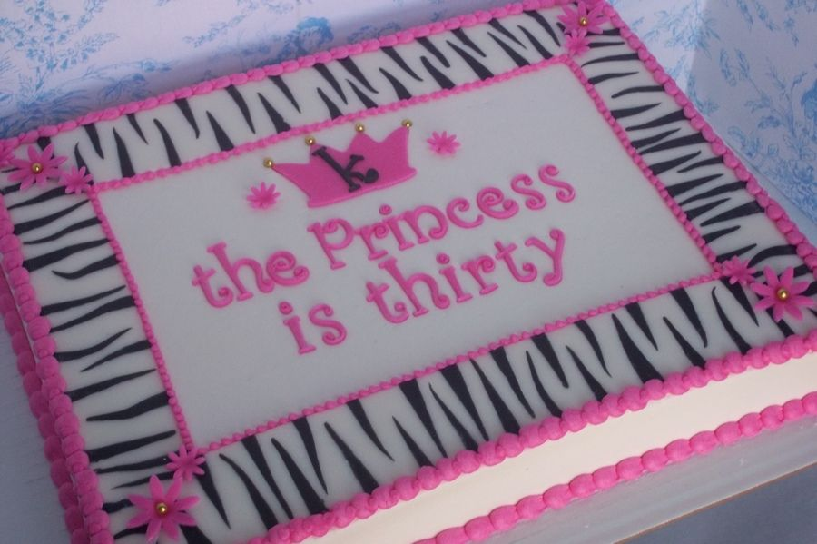Diva Princess Birthday Cakes Walmart Sheet Cake Prices Cake
