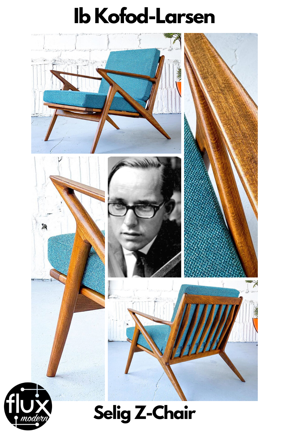 Check out this article by Vintage Home Boutique for a comprehensive look at the life and work of designer Ib Kofod-Larsen. Our most recent piece of his at Flux was this iconic Z-chair, made by Selig and reupholstered by us!  Visit our instagram for more Kofod-Larsen pieces, @fluxmodern  #asburypark #nj #travelnj #zchair #pouljensen #kofodlarsen #ibkofodlarsen #selig #danishmodern #midcenturymodern #midcentury #vintage #fluxmodern