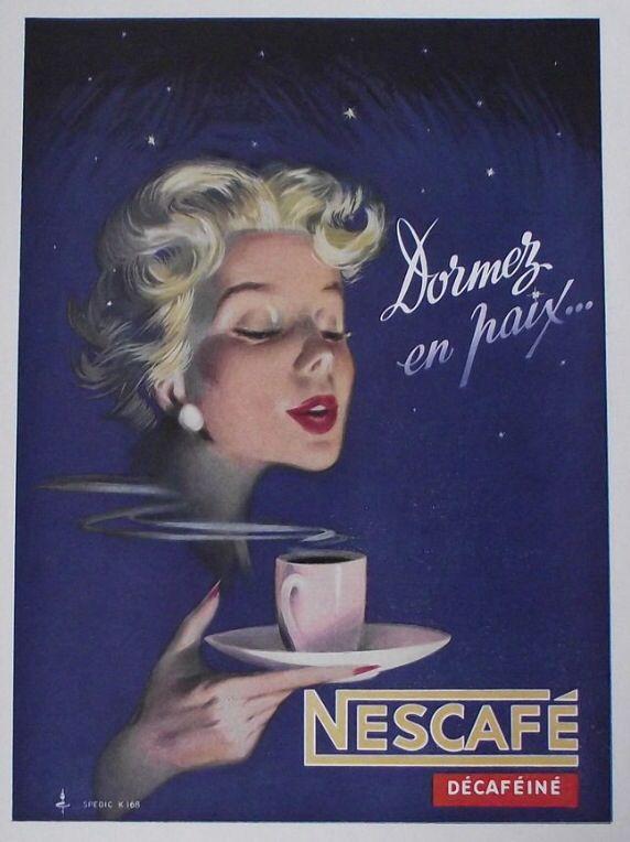 Décaféiné Nescafé
