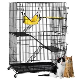 Indoor Cat Cages Enclosures Wayfair En 2020 Corral Gato Corralito Para Perros Jaulas De Gatos