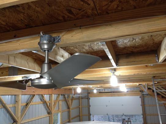 Mobile Ceiling Fan Hampton Bay Brushed Steel