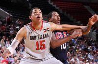 Košarkaška reprezentacija Sjedinjenih Američkih Država pobedila je jutros selekciju Dominikanske Republike sa 105:62 (28:17, 25:14, 27:14, 25:17). U d...
