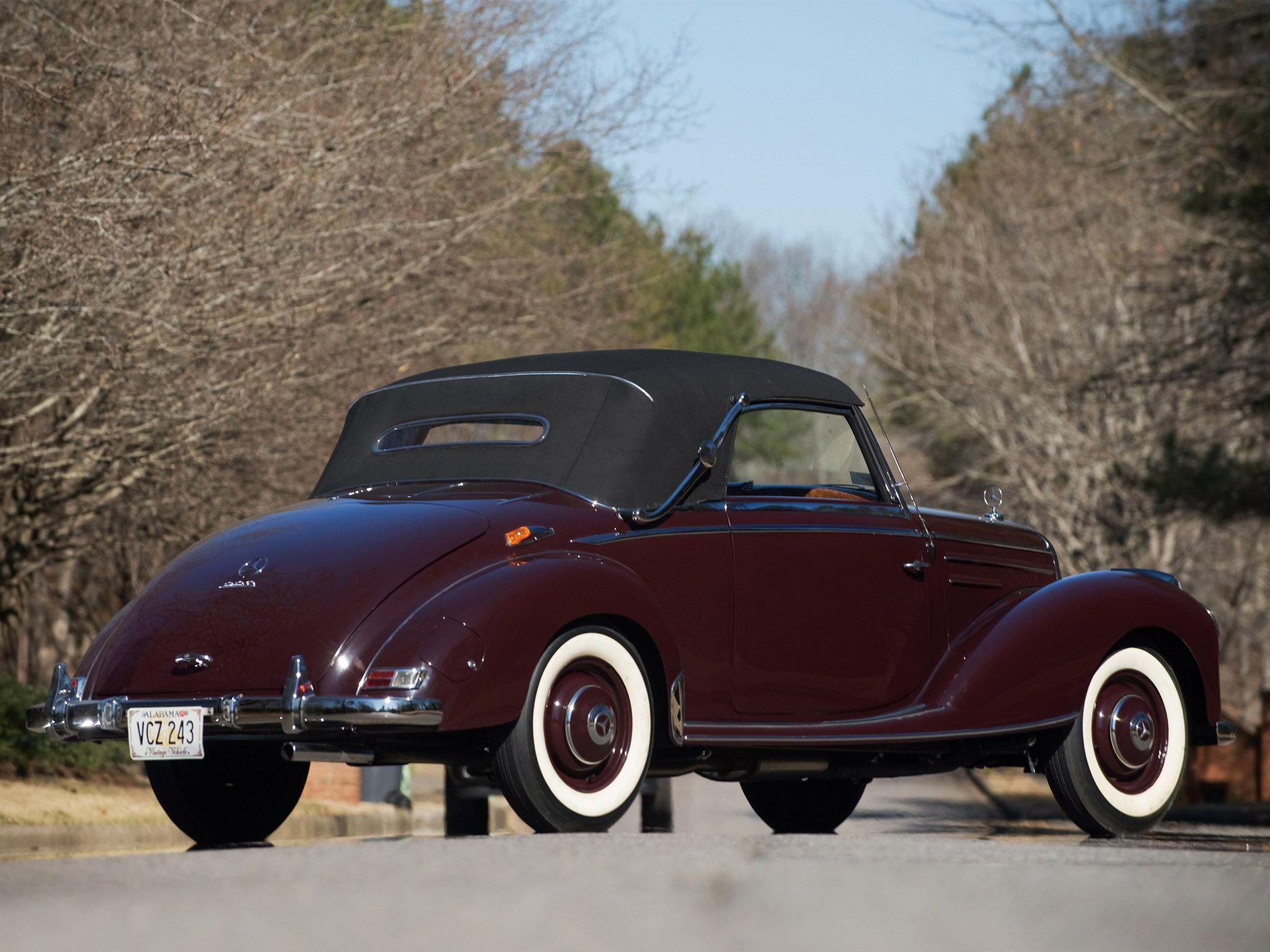 1951 Mercedes-Benz 220 - 1951 Mercedes-Benz 220 Value | 2 Door ...