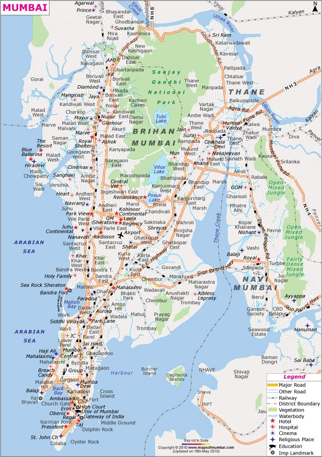 mumbai city road map Mumbai City Map India Map Mumbai City Mumbai Map mumbai city road map