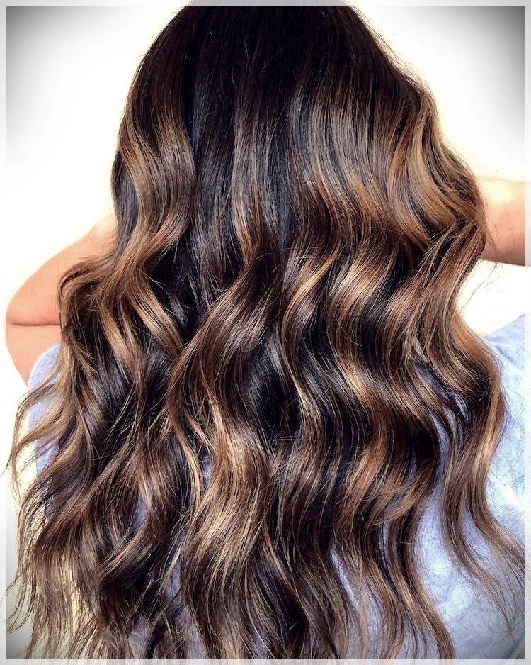 Hair Color 2019: Balayage, ombr\u00e9 and shades for winter 2019  hair color 2019 2  Hair  Curly