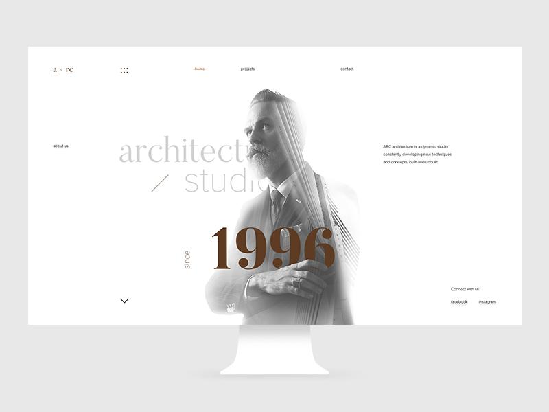 Arc Main Page by Anton Skvortsov