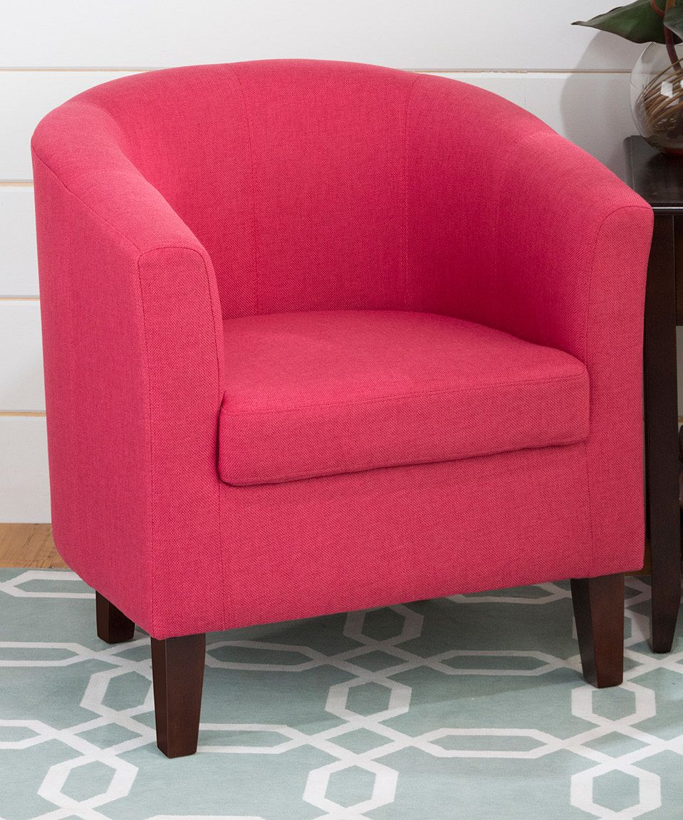 Look What I Found On Zulily Fuchsia Sophie Accent Chair By