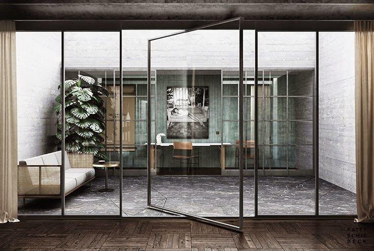 Barcelone / Un appartement designé pat Katty Schiebeck / Interiors