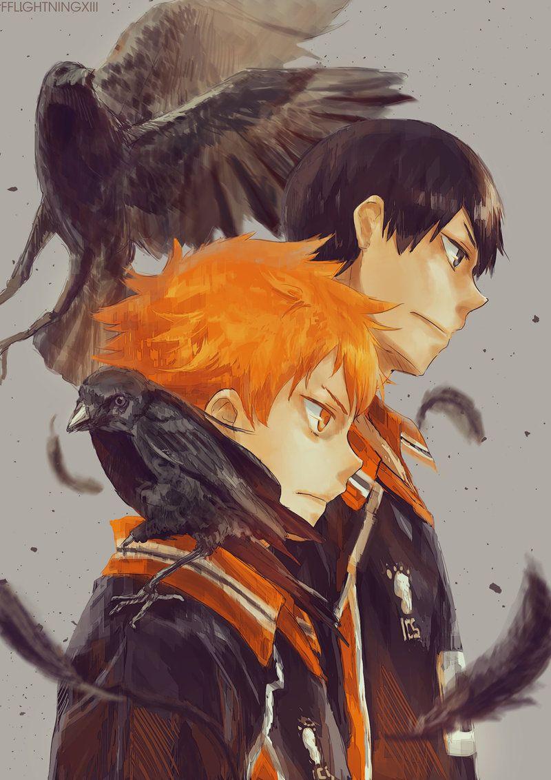New Crows By Lightning Strikes On Deviantart Haikyuu Haikyuu Anime Haikyuu Fanart