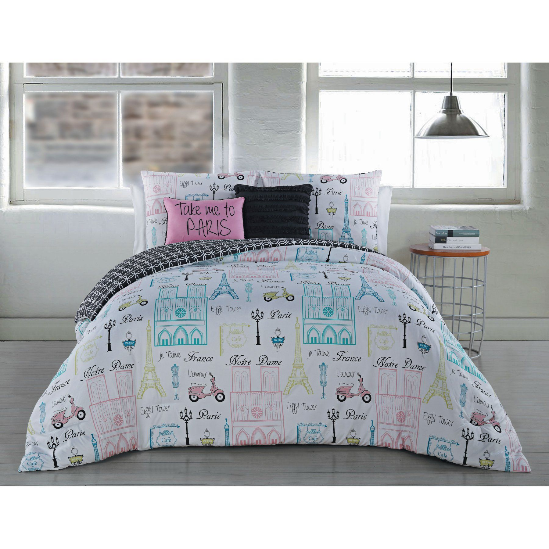 Paris Bettwäsche Dominique 5 Piece Comforter Set By Blush Dmq5cskingghmt Products