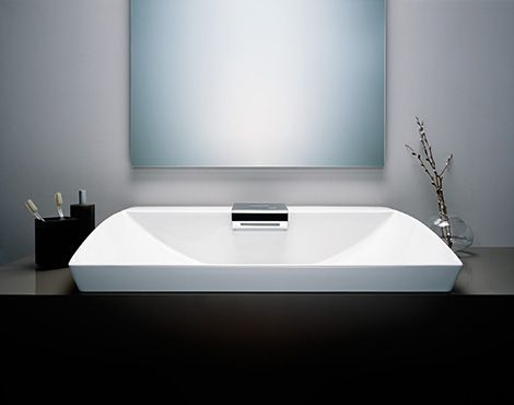 Toto Neorest integrated sensor lavatory 5x7