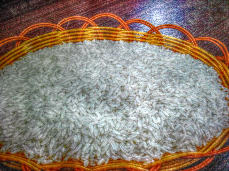 Rice from Thailand