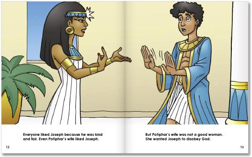 the teachings from the story of joseph and potiphars wife from the book of the bible Genesis 39: potiphar's wife  there was likely a significant age difference between joseph and potiphar's wife  by the book bible places curiosities.