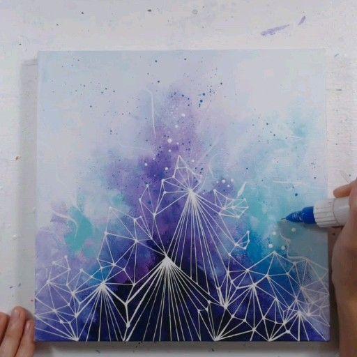 Photo of Geometric Abstract Art