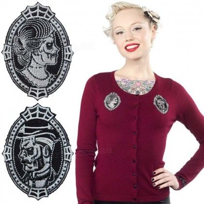 Sourpuss Zombie Cameo Cardigan