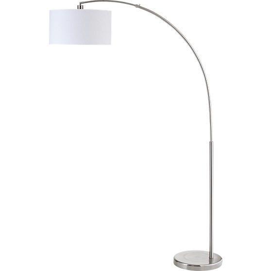 Big dipper arc brushed-nickel floor lamp | Big dipper ...