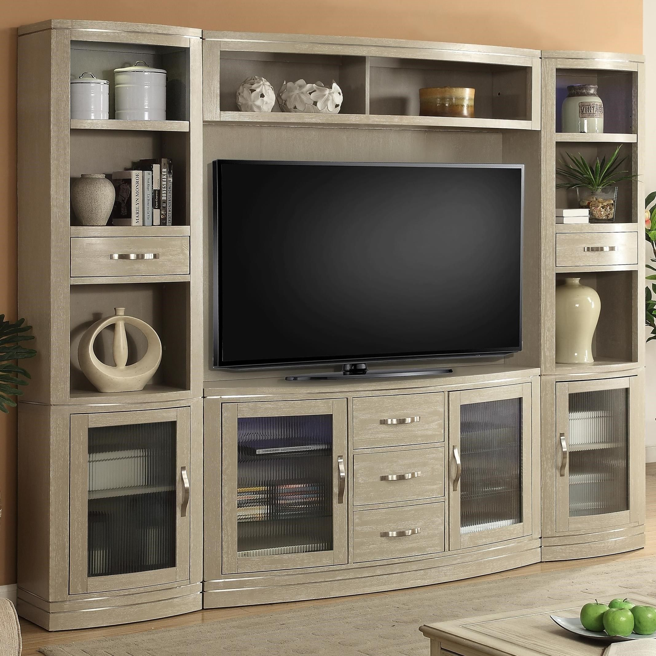 Cosmopolitan 4 Piece Entertainment Wall By Parker House At Del Sol
