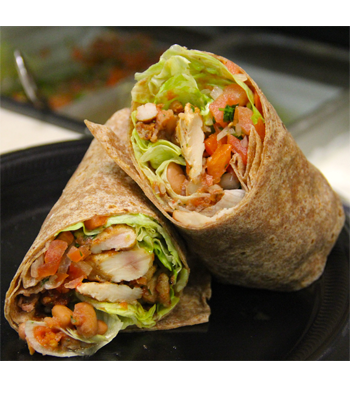 This Protein Wrap at Cotixan Mexican Food is dietitian