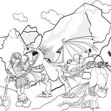 Image Result For How To Train Your Dragon 2 Colouring Pages
