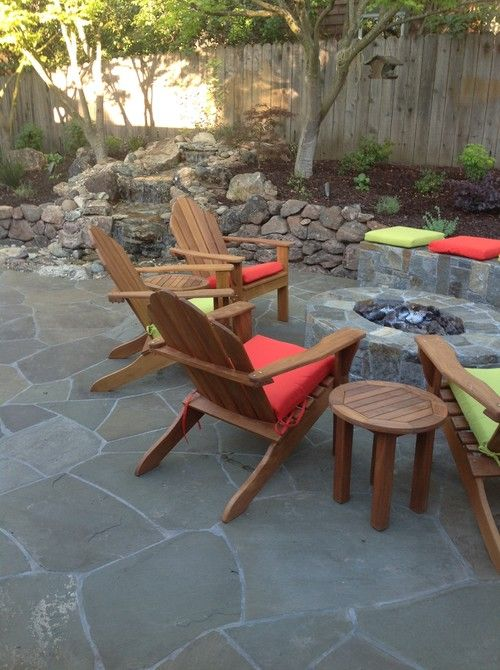 Natural Stone Pavers Stones Adirondack Furniture Outdoor Sets Walnut Creek